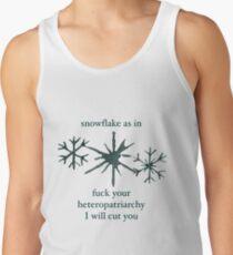 Snowflake Men's Tank Top