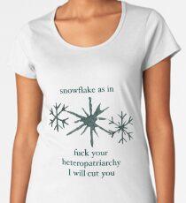 Snowflake Women's Premium T-Shirt