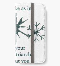 Snowflake iPhone Wallet/Case/Skin