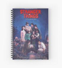 The Goonies Stranger things Spiral Notebook