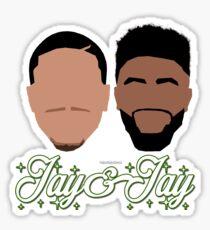 Jay & Jay Celtics Sticker