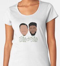 Jay & Jay Celtics Premium Scoop T-Shirt