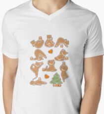Christmas cookie yoga T-Shirt