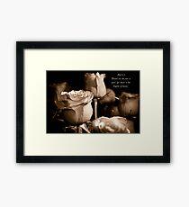 Matthew 5:3 Framed Print