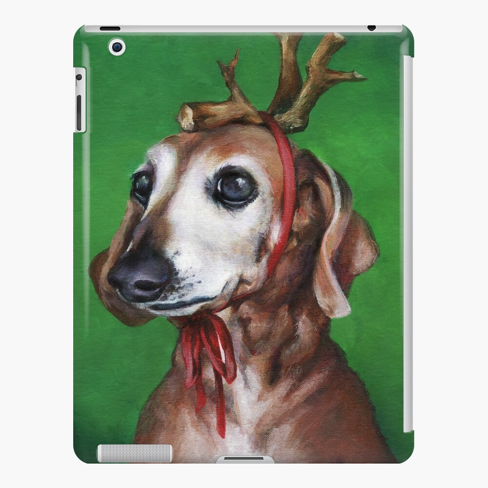 Kirby as: Max (The Grinch's Dog) iPad Case & Skin