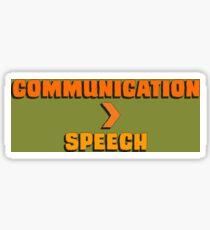Communication > Speech Sticker