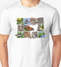 Collage of Australian Native Wildlife, WOMENS Unisex T-Shirt