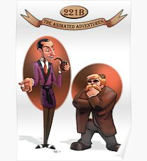 221B The Animated Adventures Poster