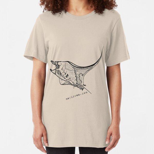 Manta Ray T-shirt Slim Fit T-Shirt