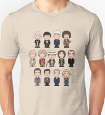 The Thirteen Doctors Unisex T-Shirt