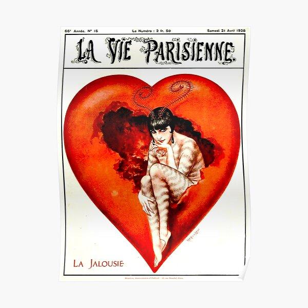 LA VIE PARISIENNE : Vintage 1928 Advertising Print Poster