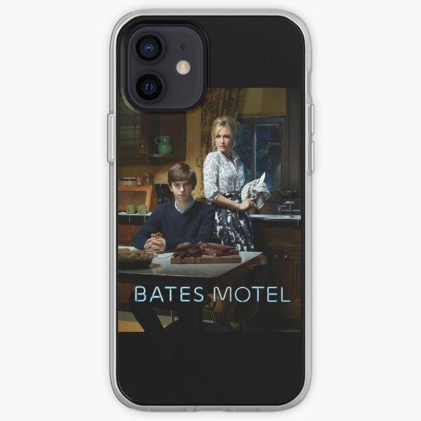 Motel Bates - Normando y Norma Funda blanda para iPhone