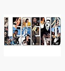 LEGEND Michael Jackson ver.1 Photographic Print