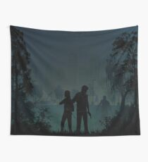 Warriors Landsacpes - The Last of Us Wall Tapestry
