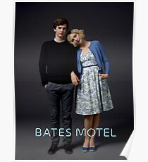 Bates Motel - Norman and Norma Poster