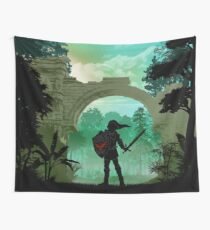Warriors Landscapes - Legend of Zelda - Link Wall Tapestry