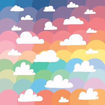 Clouds and Rainbows by karin