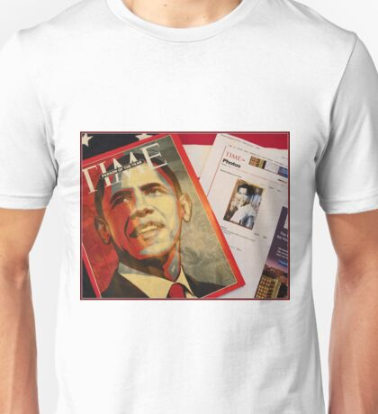 TIME Magazine; Person of the Year, Greg's Art and My Photo Online Unisex T-Shirt