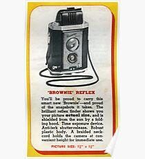 The Old Kodak Brownie Reflex  Poster