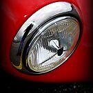 Maserati Headlight by Lynn Bawden