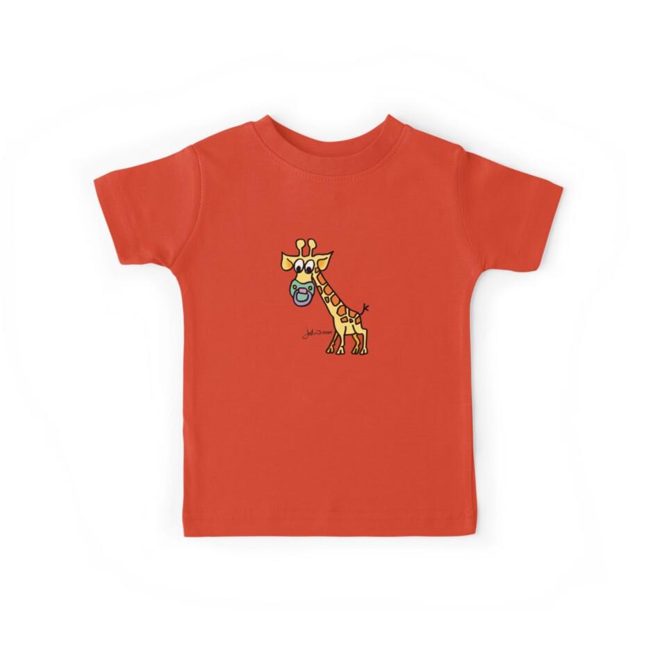 Baby Giraffe by Jodi Franzke