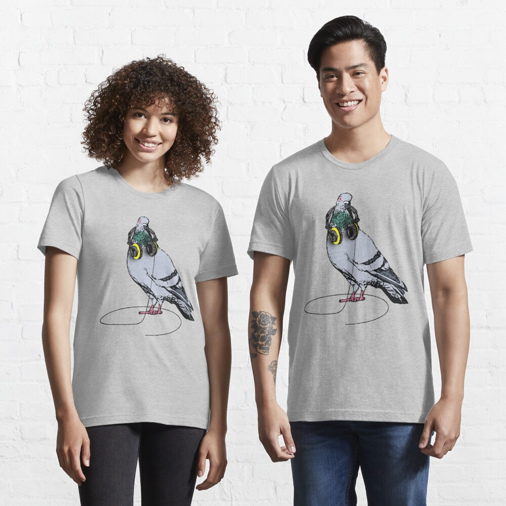 Techno Pigeon Essential T-Shirt