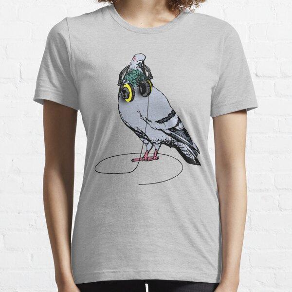Techno Pigeon T-shirt essentiel