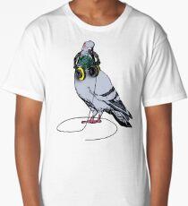 Techno Pigeon Long T-Shirt