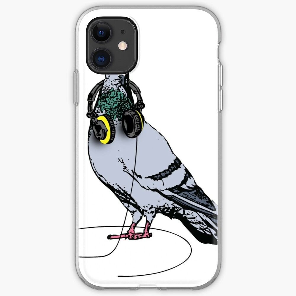 Techno Pigeon iPhone Case & Cover