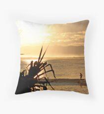 Laura - Sunset Glide Throw Pillow