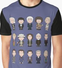 The Fifteen Doctors Graphic T-Shirt