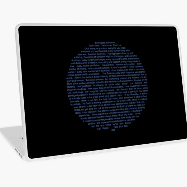 Pale Blue Dot Laptop Skin