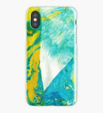 Abstract art stains iPhone Case/Skin