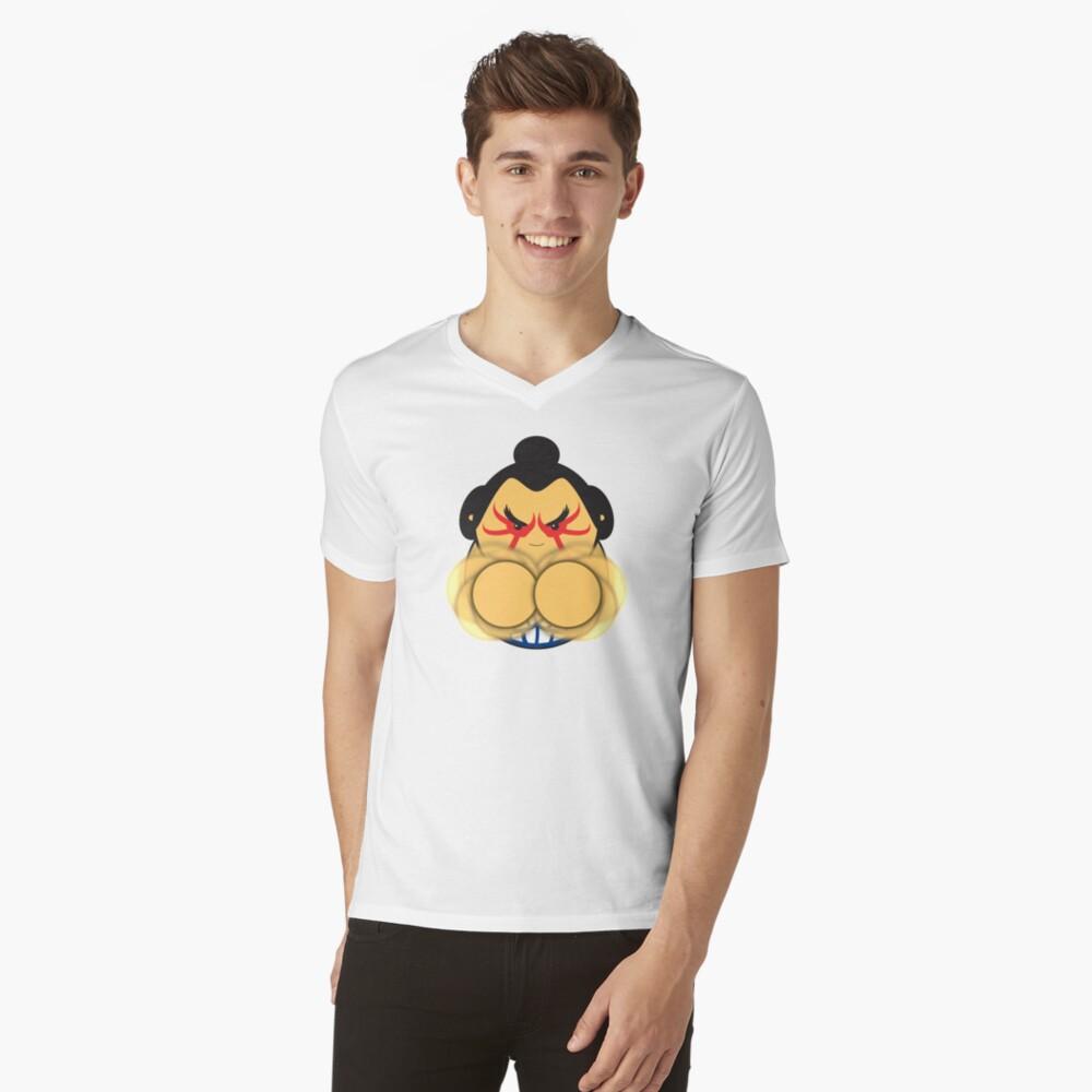E Honda V-Neck T-Shirt