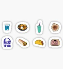 Taco Bell Variety Pack Sticker
