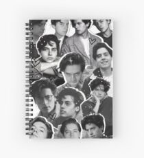 Cuaderno de espiral Cole Sprouse Collage