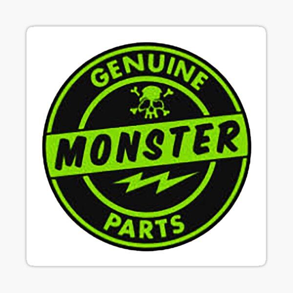 Genuine MONSTER PARTS green Sticker