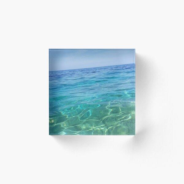 Sea Acrylic Block