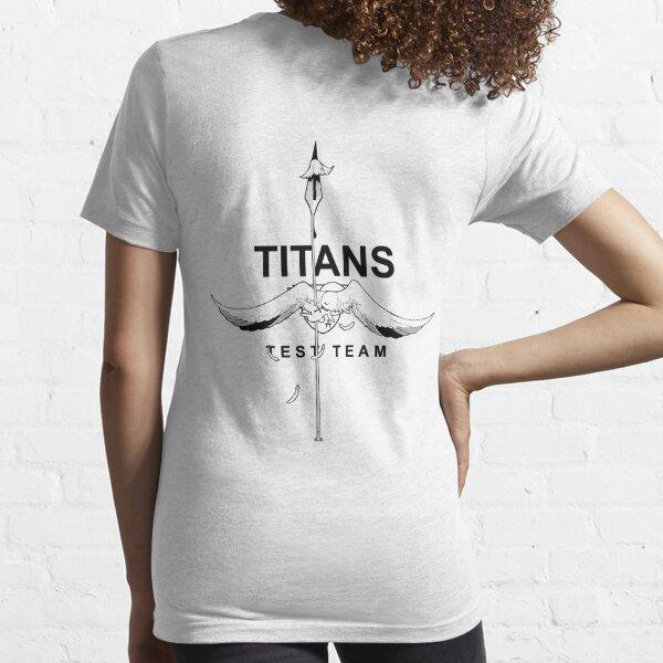 Titans Test Team (Line Art) Essential T-Shirt