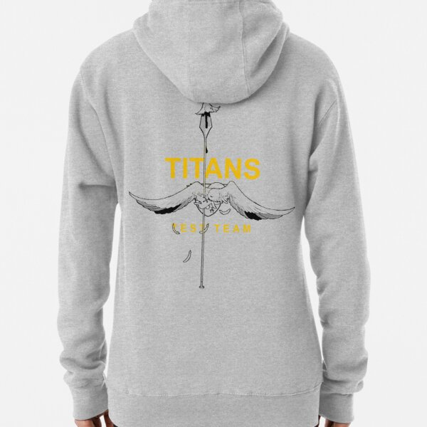 Titans Test Team (Orange) Pullover Hoodie