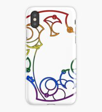 Here and Queer -- Rainbow iPhone Case/Skin
