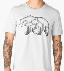 Bear Wild Men's Premium T-Shirt