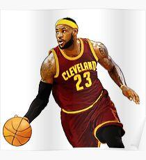King James / LeBron Poster