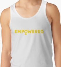 Empowered –Yellow Tank Top