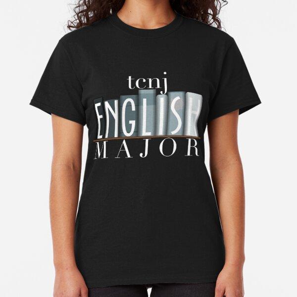 TCNJ English Major 2 Classic T-Shirt