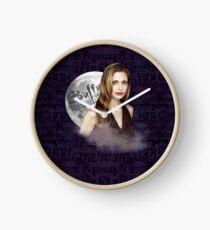 Buffy the Vampire Slayer Clock