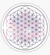 Flower of Life - Space, No background Sticker