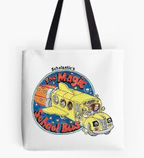 Washed-Out Magic School Bus Tote Bag