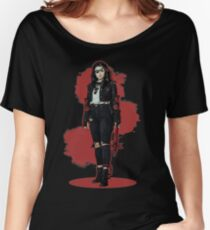 Addy Carver - Splatter Women's Relaxed Fit T-Shirt