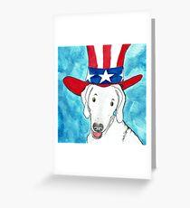 Patriot 2 Greeting Card